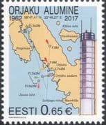 Estonia 2017 Lighthouse/ Maritime Safety/ Buildings/ Architecture/ Maps 1v (ee1229)