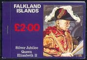 Falkland Is 1977 Queen  /  QEII  /  Royalty  /  Horses bklt n31024