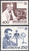 Faroe Islands/ Faroes 1983 Europa/ Medical/ Science/ Fleming/ Finsen/ Medicine/ Health/ Penicillin/ Phototherapy 2v set (n21106)