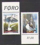 Faroes 1991 Birds  /  Gulls  /  Nature  /  Wildlife 2v set (n22458)