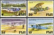 Fiji 1978 Planes/ Aviation/ Aircraft/ Transport/ History/ RAF/ Wright Brothers 4v set (n19577)