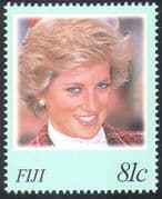 Fiji 1998 Diana Princess of Wales/ Royalty/ Royal/ People 1v  set  (n18257)