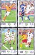 Fiji 2006 Football World Cup Championships/ WC/ Soccer/ Sports 4v set (n15870)
