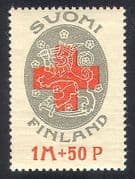 Finland 1922 Red Cross Fund  /  Health  /  Welfare  /  Medical  /  Animation 1v (n40962)