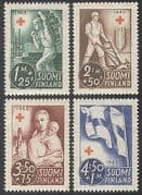 Finland 1945 Red Cross  /  Medical  /  Health  /  Child 4v (n25683)