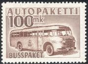 Finland 1952 (1958 issue) Parcel Post/Postal Bus/Coach/Transport/Motoring 1v (s4559r)