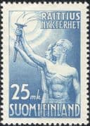 Finland 1953 Temperance Flame/ Medical/ Health/ Welfare/ Animation/ Alcohol/ Drink 1v (n43007b)