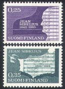 Finland 1965 Sibelius  /  Composers  /  Music  /  Musicians  /  Musical Score  /  People 2v (n41009)