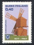 Finland 1967 Windmill  /  Buildings  /  Architecture  /  Heritage  /  Business 1v (n40967)