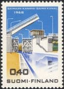 Finland 1968 Opening of Saima Canal/ Lock Gate/ Transport/ Boats/ Commerce/ Construction/ Engineering 1v (n43007f)