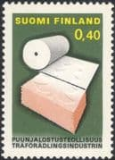 Finland 1968 Paper Making/ Industry/ Commerce/ Business/ Trees/ Embossed/ Printing 1v (n19580m)