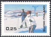 Finland 1968 Tourism/ Winter Sports/ Games/ Skiing/ Holidays/ Animation 1v (s333e)