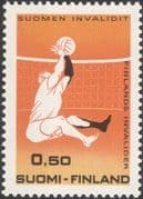 Finland 1970 Disabled Volleyball/ Sports/ Games/ Medical/ Invalids 1v (n19580b)