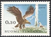Finland 1970 Golden Eagle/ Nature Protection/ Birds/ Wildlife/ Conservation/ Raptors 1v (n23802a)