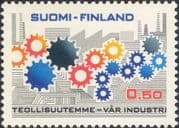 Finland 1971 Industry/ Commerce/ Business/ Cogwheels/ Cog Wheels/ Factories 1v (n19580r)