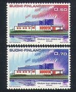 Finland 1973 Nordic House  /  Building  /  Architecture  /  Postal Co-operation 2v (n34072)