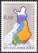 Finland 1976 Maps/ Language/ Communication/ Dialect/ People 1v (n24508c)