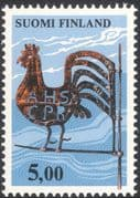 Finland 1976 Traditional Arts/ Crafts/ Weather Vane/ Rooster/ Cockerel 1v (n13607g)