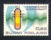 Finland 1977 Nuclear Energy  /  Power  /  Electricity  /  Atomic  /  Science 1v n34057