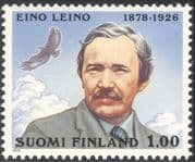 Finland 1978 Eino Leino/ Poet/ Writer/ Poetry/ Eagle/ Bird/ Raptor/ Nature 1v (n23819)