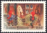 Finland 1979 Christmas/ Greetings/ Horse/ Brownies/ Children/ Animation 1v (s143c)