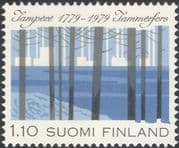 Finland 1979 Tampere 200th/ Trees/ Nature/ Forest/ Heritage/ Historty/ Animation 1v (n19580d)