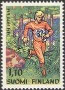 Finland 1979 World Orienteering Championships/ Sports/ Athlete/ Athletics/ Trees/ Forest 1v (n19580a)
