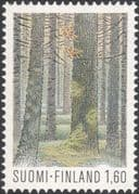 Finland 1981 National Park/ Trees/ Forest/ Plants/ Nature/ Conservation/ Fungi   1v (n19580e)