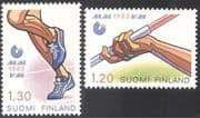 Finland 1983 World Athletics Championships/ Sports/ Games/ Running/ Javelin 2v (s333f)