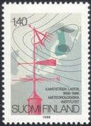 Finland 1988 Weather Chart/ Vane/ Meteorological Institute/ Meteorology/ Science/ Maps 1v (n19580k)