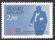 Finland 1990 Disabled Ex-servicemen's Association/ Soldiers /Military/ Health/ Welfare/ Animation 1v (n43007)