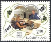 Finland 1994 Postal Service Civil Servants Federation/ People/ Workers/ Trades Unions 1v (s4559)