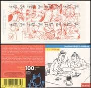 Finland 1996 Comic Strips/ Animation/ Drawings/ Cartoons/ Artists 8v bklt (n45262e)