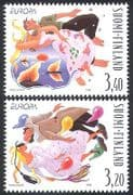 Finland 1998 Europa  /  National Festivals  /  Balloons  /  DancingAnimation 2v set (n40969