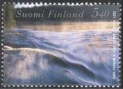Finland 2001 Europa/ Water Resources/ Environment/ Conservation/ Nature 1v (s333c)