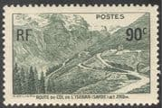 France 1937 Col de l'Iseran Road/ Engineering/ Construction/ Transport/ Motoring/ Mountains 1v (n42777)