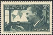 France 1937 Mermoz/ Planes/ Aircraft/ Aviation/ People/ Pilot/ Transport 1v (n44327)