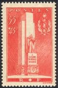 France 1938 Military/Medical Corps/Monument/Health/Memorial/Statue 1v n43566