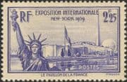 France 1939 World Fair/ Statue of Liberty/ Pavilion/ Tower/ Buildings/Architecture 1v (n46098)