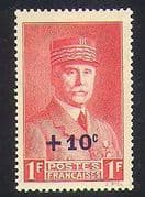 France 1941 Relief Fund  /  Welfare  /  Marshal Petain  /  People 1v + surcharge (n36948)