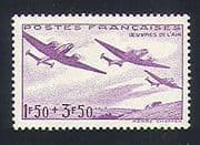 France 1942 Aviation  /  Welfare  /  Planes  /  Aircraft  /  WWII  /  Ploughing  /  Transport 1v n32917