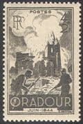 France 1945 Oradour/ Buildings/ Church/ Soldiers/ WWII/ War/ Battles/ Military 1v (n31496)
