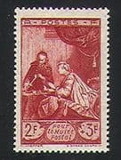 France 1946 Post  /  Mail  /  Art  /  Museum  /  Painting 1v (n31543)
