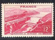 France 1948 Dam  /  Power  /  Energy  /  Water  /  Buildings  /  Construction  /  Electricity  1v n33144