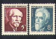 France 1948 Science  /  Physics  /  Scientists  /  People  /  History 2v set (n36946)