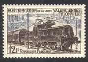 France 1955 Electric Trains  /  Transport  /  Rail  /  Railways  /  Locomotives 1v (n29816)