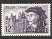 France 1955 Jacques Coeur  /  Prince  /  Buildings  /  Architecture  /  People 1v (n39350)