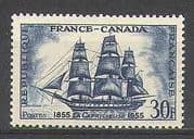 France 1955 Ships  /  Boats  /  Nautical  /  Sailing 1v (n24226)