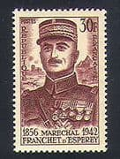 France 1956 Marshal d'Esperey  /  Military  /  People  /  Army  /  Soldiers  /  Battles 1v (n33425)