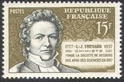 France 1957 Louis-Jacques Thenard/ Science/ Chemistry/ Scientists/ People 1v n41907